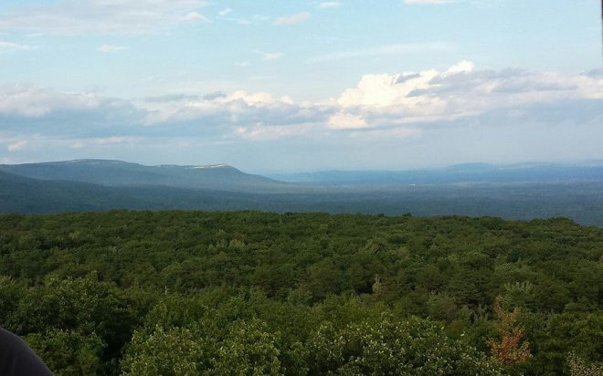 The Shawangunk Mountains