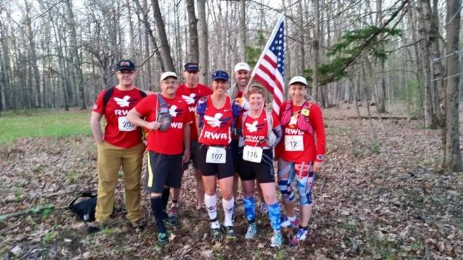 Team Red White & Blue ready to take on 50 miles at Rock The Ridge, May 2, 2015