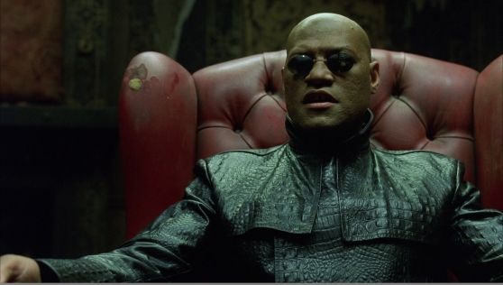 Morpheus, The Matrix (Warner Brothers 1999)