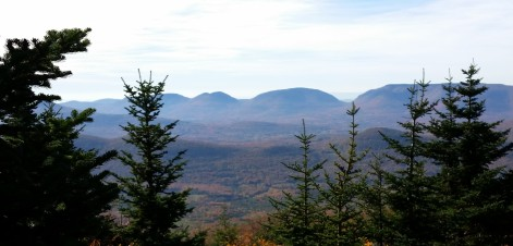 View of Sugarloaf Mountain from Black Dome
